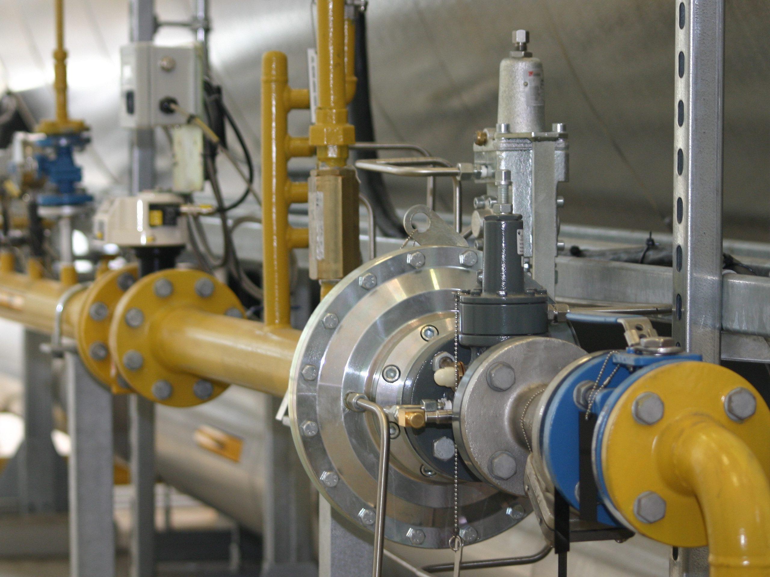 Gasleiding inspectie (scope 7)